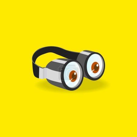 Minions goggles icon