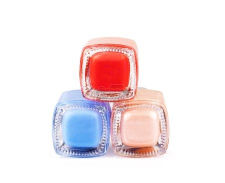 Photo pour Vernis à ongles couleur isolé sur fond blanc - image libre de droit