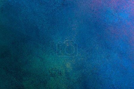 Photo pour Stucco grunge bleu texture, bannière, espace de copie - image libre de droit