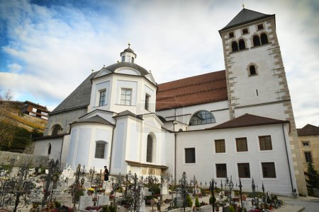 1 November 2017: The Augustinian abbey of Novacella (Augustiner-Chorherrenstift Neustift in German), in the municipality of Varna, in the immediate vicinity of Bressanone, (Bolzano), is one of the most prestigious abbeys of northern Italy.
