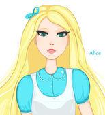 Alice Pretty blonde girl