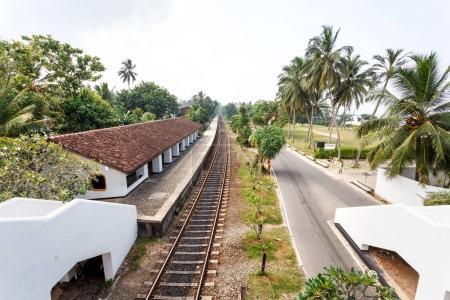 Railway station in Bentota