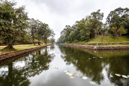 Watercourses around fortress of Sigiriya