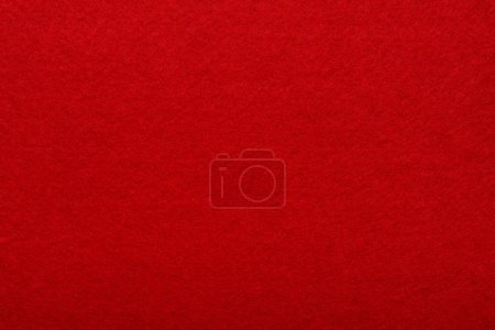 Photo for Red canvas texture as background - Royalty Free Image