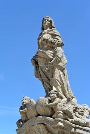 statue of St. Anna in Kutna Hora, czech republic