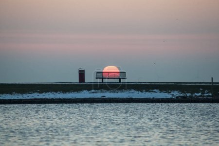 Lighthouse in Headland, Aalsmeer, Holland