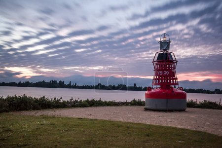 Lighthouse in Headland, Aalsmeer, Holland