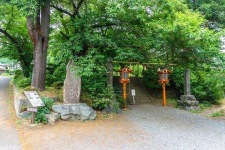 Way to Chureito Pagoda