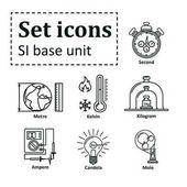 Icon set on basic unit