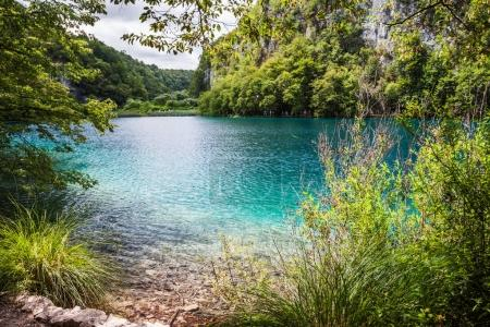 Cascades Lakes with turquoise water