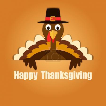 Illustration pour Joyeux Thanksgiving Celebration Design. Illustration vectorielle - image libre de droit
