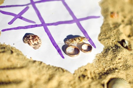Tic Tac Toe and wedding rings