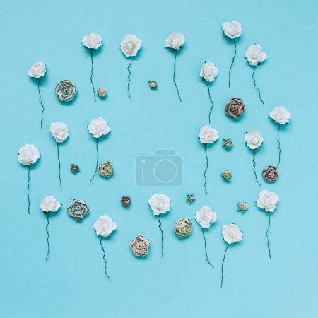 cute plastic roses