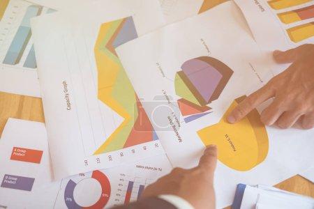 Foto de Espacio de negocios, Escritorio de oficina, Espacio para copiar texto, Vista superior - Imagen libre de derechos