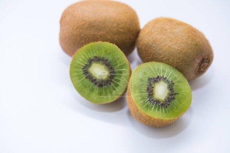 Photo for Fresh Kiwi fruit sliced use for background - Royalty Free Image