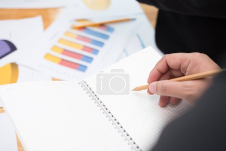 Photo for Business people meeting to discuss and consult on the future plans of their work together - Royalty Free Image