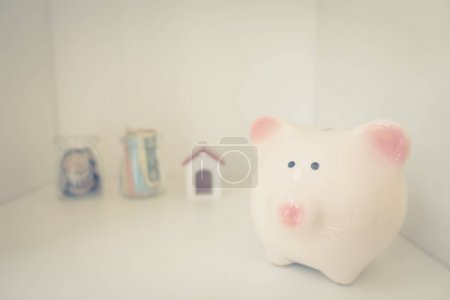 Photo for Saving money concept, investment - Royalty Free Image