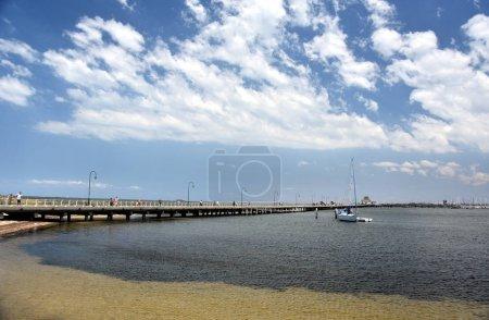 St Kilda pier in Melbourne.