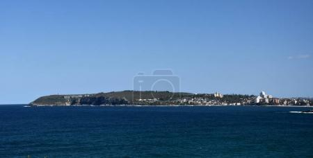 Panoramic view of Manly and North Head