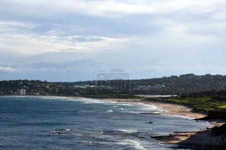 Panoramic view of Dee Why beach