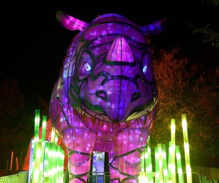Sumatran Rhino Rhinoceros sculpture