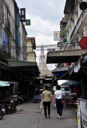 Alley in Bangkok city