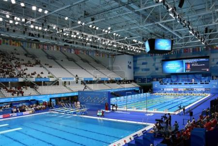 Duna Arena the home of swimming and diving competitions