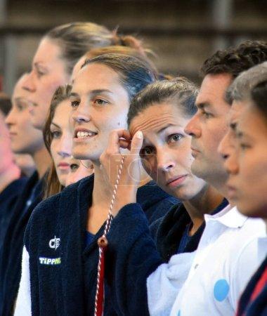 Hungarian women waterpolo team