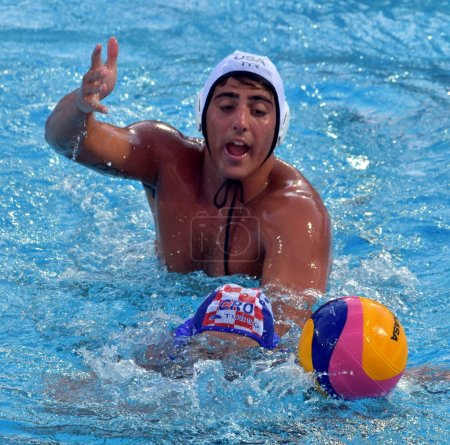 CUPIDO Luca playing against Croatia
