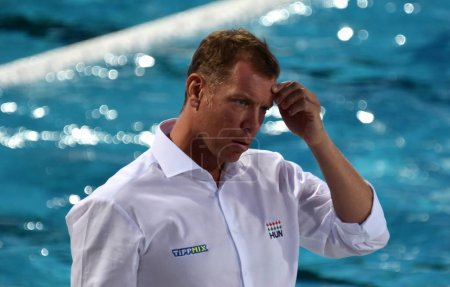 MARCZ Tamas, head coach of Hungary Men Waterpolo team