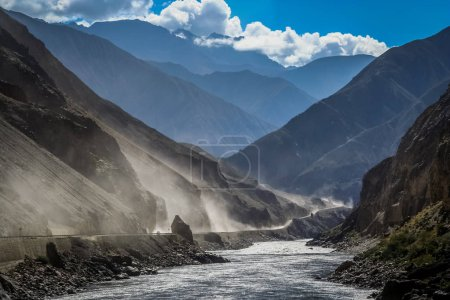 Road from Tibet to Yunnan