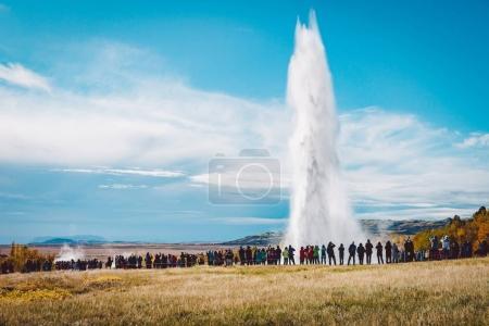 the Stokkur geyser