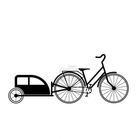 Bicycle tandem trolley trailer tent accessories
