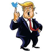 Donald Trump Social Media Updates Cartoon Vector Illustration Washington June 15 2017