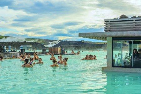 Iceland, Geothermal Blue Lagoon Resort - September...