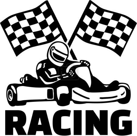 Goal flags and kart racing