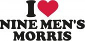 I love Nine men's morris