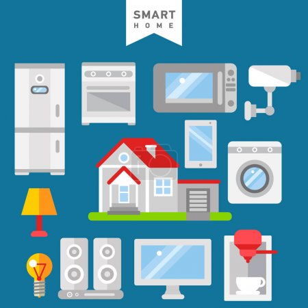 Smart home iot internet of thing