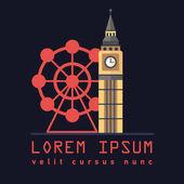 Symbol of London tower Big Ben