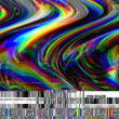 Glitch psychedelic background. Old TV screen error...