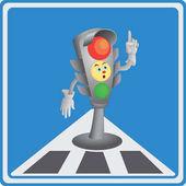 Traffic light Yellow light