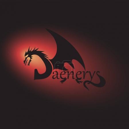 Deyeneris. A word with a dragon.