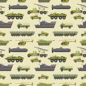 Military trucks pattern
