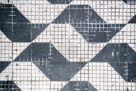 Traditional Pattern of Sao Paulo Streets in Brazil