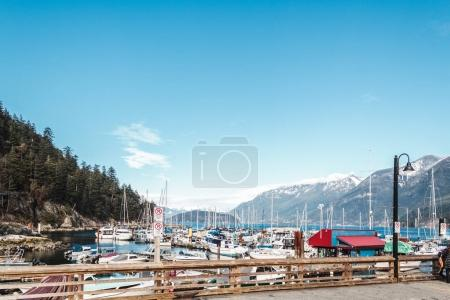 Horseshoe Bay in West Vancouver, BC, Canada