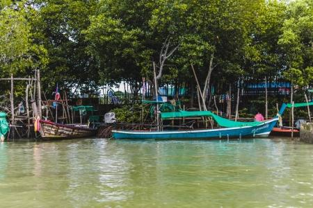 Long Tail Boats in Phuket Island, Thailand