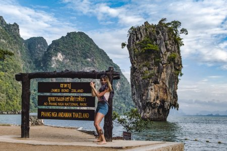 James Bond Island in Phang
