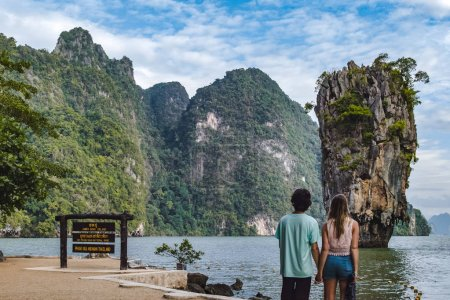 James Bond Island in Phang Nga Bay, Thailand