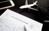 Töltés utazási vízumkérő űrlappal vonatkozó nyaralás