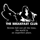 Allison Reynolds from Breakfast club qoute on black and white vector1